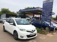 2013 63 Toyota Yaris 1.33 VVT-i 5 Door, Trend in White, 47,000 miles