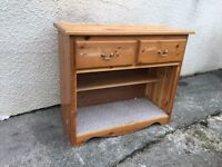 Pine dresser base cupboard cabinet sideboard solid pine can deliver