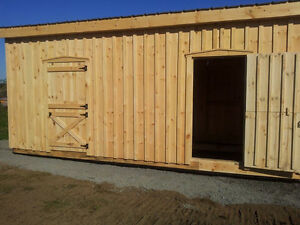10 x 20 two stall structure / shelter by Timely Touch Ups