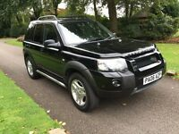 2006 06 PLATE LAND ROVER FREELANDER 2.0 TD4 AUTO FREESTYLE 4X4