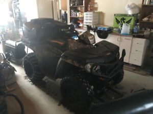 vtt polaris sportsman 500, 2013