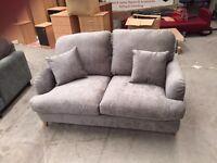 Brand new Gatsby designer grey 2 seater sofa