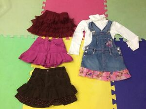 Jean skirts size 4T