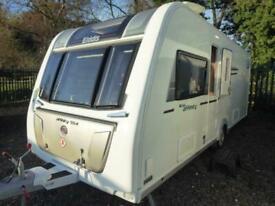 Elddis Affinity 554 2016 Island Bed 4 Berth Touring Caravan