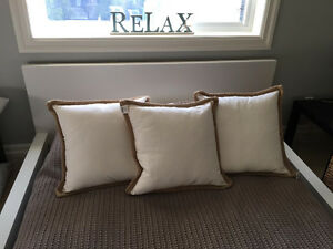 Bouclair Down Filled Throw Pillows