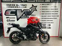 YAMAHA MT03 A2 LEGAL 300CC 2020 MODEL NEW 0 MILES FROM FACTORY CBR R3 NINJA
