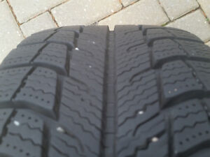 Michelin X-Ice winter tires on alloy rims Windsor Region Ontario image 4