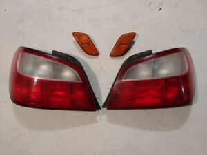 2002-03 Subaru WRX tail lights and front side marker lights.