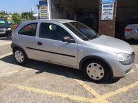 Vauxhall corsa, 2002/52, 1.2 petrol, only 13000 miles, £995
