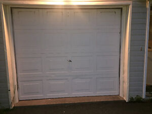 GARAGE DOOR and AUTOMATIC OPENER