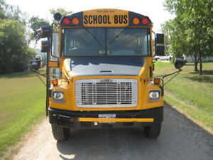 2003 Thomas School bus c/w handicap lift, 78 passenger body