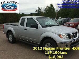 2012 Nissan Frontier King Cab SV-V6 4X4 at