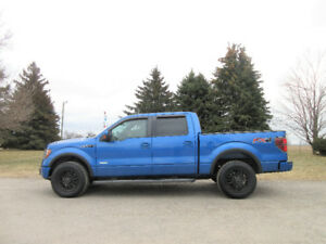 2012 Ford F-150 FX4- 4 Door Super Crew.  ONE OWNER SINCE NEW!!
