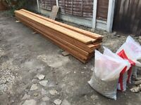 Pressure treated spruce tongue & groove flooring 5m x 5m coverage REDUCED