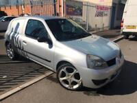 RENAULT CLIO 1.5DCI SL15 CAMPUS + 2 KEYS + LOW WARRANTED MILES + HPI CLEAR