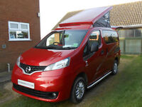 Lunar Vacanza Pop Top Day Van/Camper Van. Sleeps 2 Adults & 2 Children