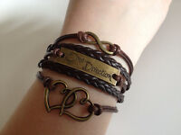 New One Direction Leather Charm Bracelet!