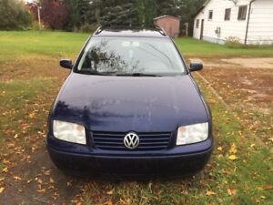 2003 VW JETTA TDI STATION WAGON