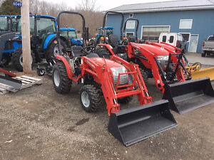 New McCormick 24hp with Loader - X1.25H