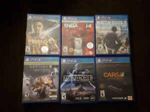Exclusive Playstation 4 Games For Sale!