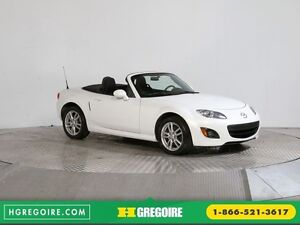 2011 Mazda MX-5 CONVERTIBLE GX A/C GR ÉLECT MAGS