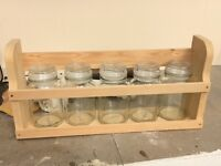 New Hand Made Spice Rack