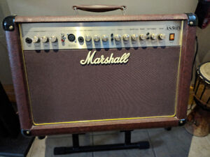 Marshall AS50D Acoustic Amp and stand