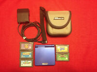 Ensemble Gameboy Advance SP Super Mario Bros