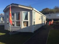 Static caravan at Turnberry Holiday Park Sea views with stunning scenic walks excellent facilities