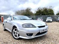 2006 56 HYUNDAI COUPE 2.0 SE SILVER PETROL ☆ LEATHER ☆ BARGAIN PART EX TO CLEAR