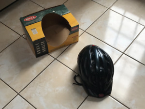Bell cycling helmet with box