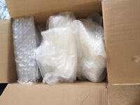 Bubble wrap, protective packaging and cardboard box