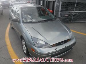 2004 FORD FOCUS ZTS 4D SEDAN ZTS