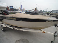 2002 Legend 168 Xterminator Fishing boat w/60hp Mercury & Traile