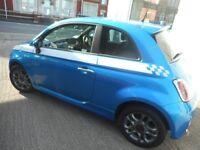 Fiat 500 TWINAIR S (italia blue) 2015
