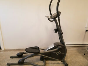 Elipitical  stepper exercise machine.  Digital display.