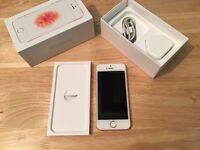 IPhone SE 16gb Rose Gold Unlocked (A)