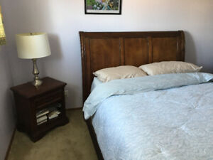 Sleigh Queen Bedroom Set (Bed, dresser, nightstand)