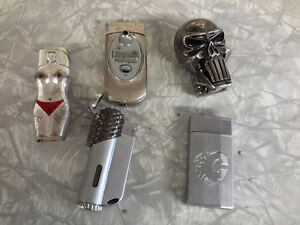 COLLECTION OF 20 LIGHTERS ZIPPO, WEIRD ONE $150.00 Kingston Kingston Area image 3