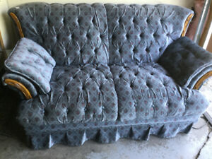 COUCH, LOVESEAT & CHAIR