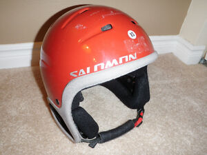 Child Ski Helmet and Harness Kitchener / Waterloo Kitchener Area image 1