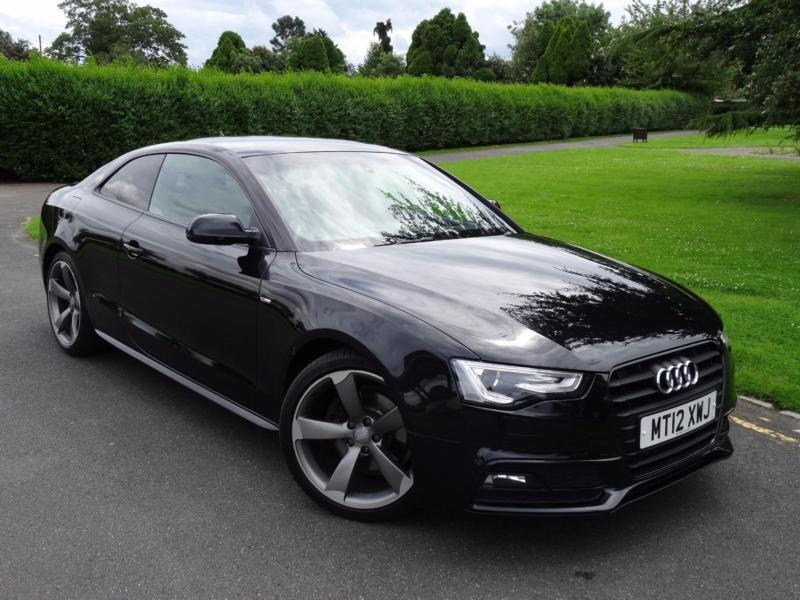 audi a5 2 0 tdi s line black edition coupe 2012 12 in. Black Bedroom Furniture Sets. Home Design Ideas
