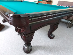 Majestic Pinnacle Mahogony 8 foot slate Pool Table