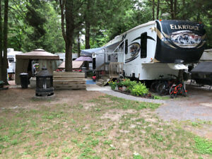 Roulotte 2014 Heartland ElkRidge 37 Ultimate Fifth wheel