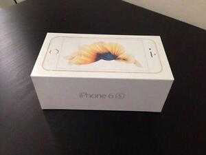 Gold IPhone 6S 32 Gb Rogers, Fido, Chatr New Sealed Box  CALL   647-875-7109