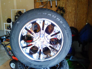 20 inch Chrome Rims