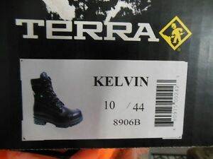 Brand new Terra steel toe work boots