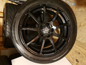 Enkei mag wheel with General G-max tires