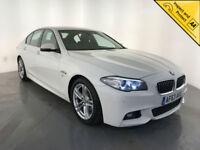 2013 63 BMW 520D M SPORT DIESEL SALOON 1 OWNER BMW SERVICE HISTORY FINANCE PX