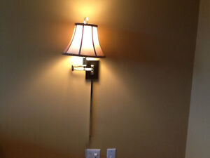 2 Solid Brass Wall Lamps - functional and beautiful St. John's Newfoundland image 4